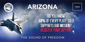 Arizona Sound of Freedom License Plate